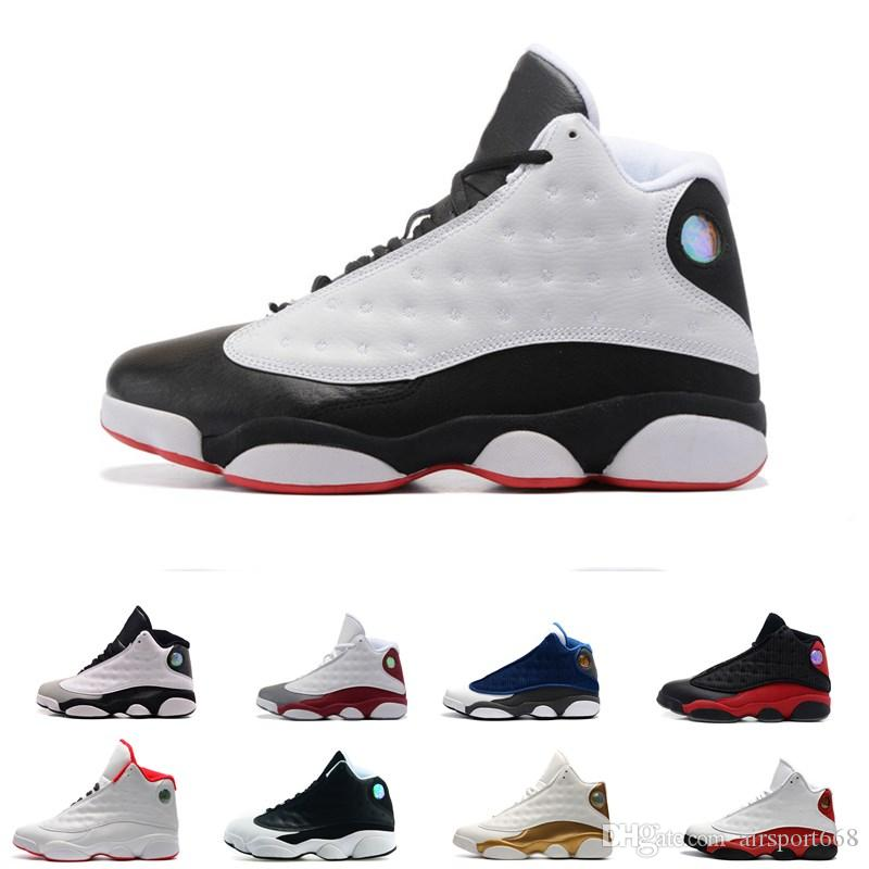 8b91ad6de25f7e Top Quality Wholesale Cheap NEW 13 13s Mens Basketball Shoes Sneakers Women  Sports Trainers Running Shoes For Men Designer Size 5.5 13 Mens Basketball  Shoes ...