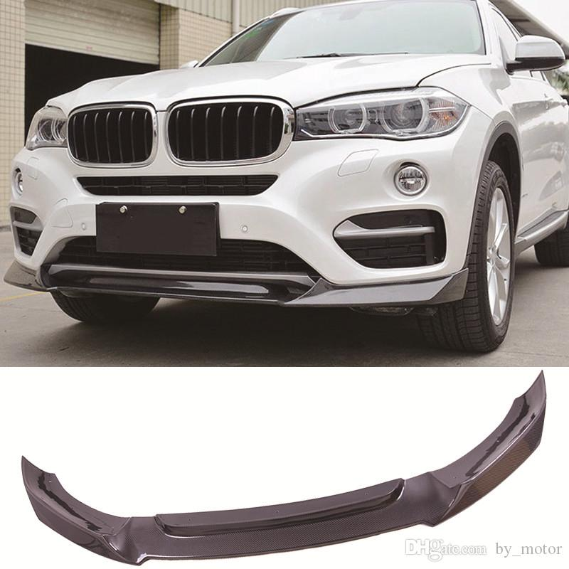 Carbon Fiber Front Lip Spoiler Standard Model Fit For Bmw X6 F16