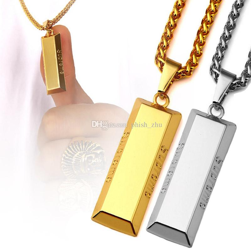 18k gold plated gold bar pendant necklaces no fade 2018 brand new 18k gold plated gold bar pendant necklaces no fade 2018 brand new design punk style fashion hip hop jewelry necklaces gold necklaces necklaces pendants aloadofball Image collections