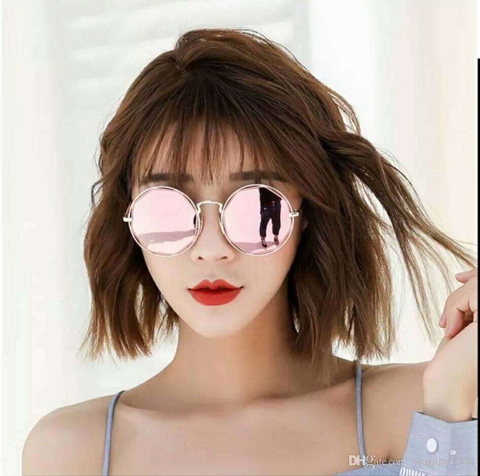 Gafas De Sol De Moda Para Mujer Nuevas Gafas Redondas Estilo Coreano Gafas Redondas Retro Coreanas