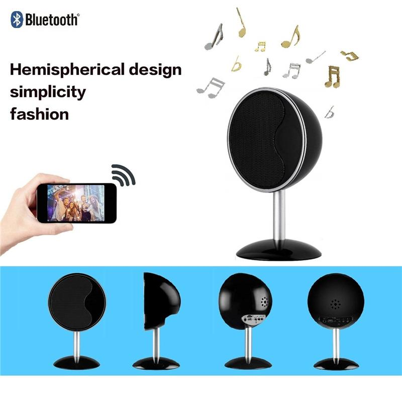 New HD 1080 Wifi Camera Bluetooth Speaker Nanny Security Video Recorder Music Cam Motion Detection for Home/Office Support iPhone/Android/PC