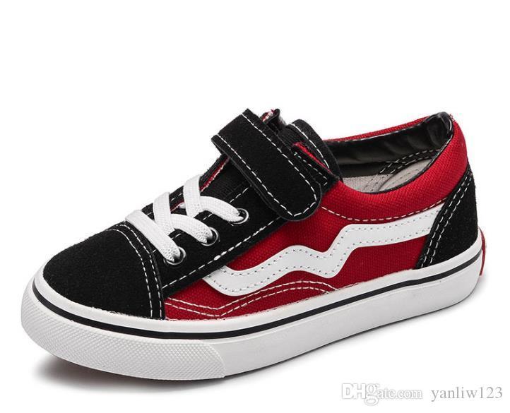 c0d2d005c7140 Acheter Chaussures Enfants Automne Enfants Noir Casual Trainer Bébé Garçon  High Top Sneaker Fille Mode Sport Chaussure De  20.54 Du Yanliw123