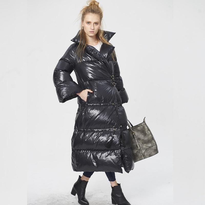 big sale d8093 48134 cappotto lungo delle donne ucraina giacche e cappotti 2016 parka donne  cappotto caldo inverno caldo donne giacca lunga puffer donne con piumino