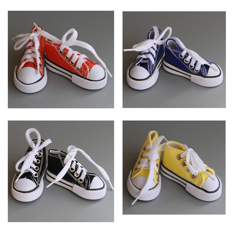 Princess Canvas Cloth Doll Shoes Fashion SD MSD YOSD DD BJD Sports Shoes For 1/4 1/3 Doll Accessories Toys For Girls