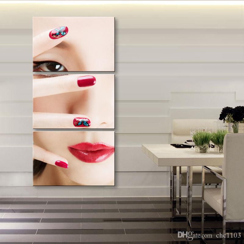 high-definition print character background canvas oil painting poster and wall art living room picture RW-077