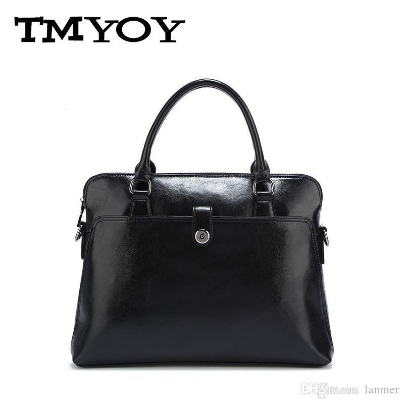 Wholesale- TMYOY 2017 Fashion Women Casual Tote Bag Classical Pu ... a9dd29381fc40