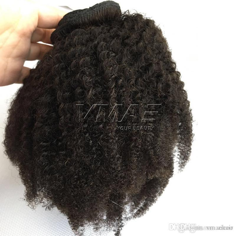 Afro Kinky Curly 4c Clip In Human Hair Extensions Brazilian 100