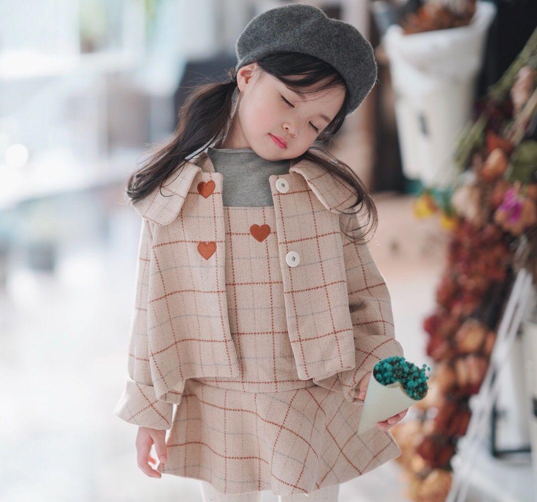 98cce00cc Compre Meninas De Luxo Conjunto 2018 Primavera Outono Crianças Roupas De Manga  Comprida Meninas Outerwear Moda Casaco + Vestido De Xiaoxiao1939
