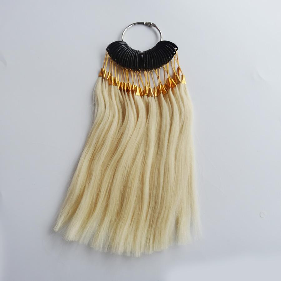 100 Human Virgin Hair Color Ring For Human Hair Extensions And