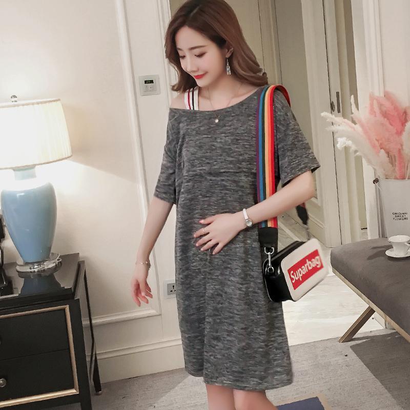 fc9f1c521a Großhandel Qualität Sommer Mode Mutterschaft Pflege Dress Versteckte  Reißverschluss Stillen Kleidung Für Schwangere Schwangerschaft Kleidung Von  Mingway245, ...