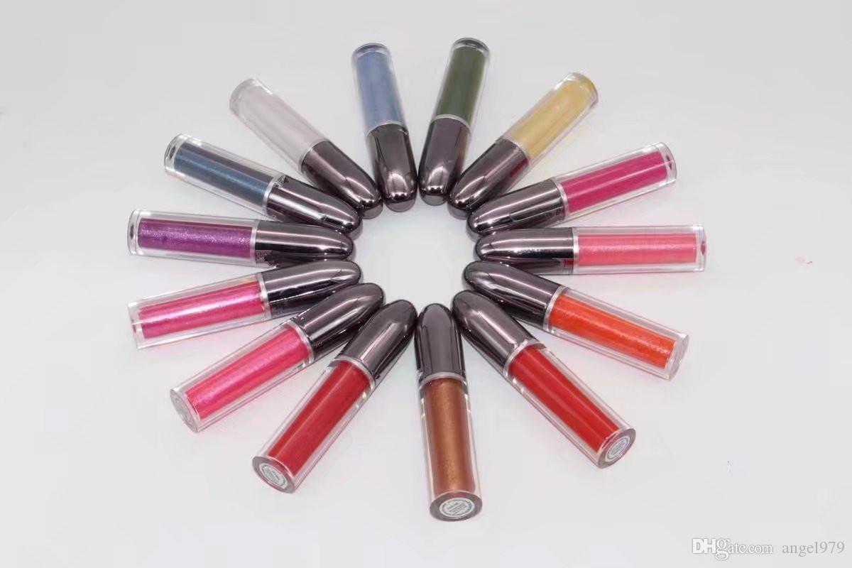 Nuovo arriva trucco grande illusione liquido lipolour top quality i lipgloss 14 pz / set lipgloss regalo box Spedizione Gratuita