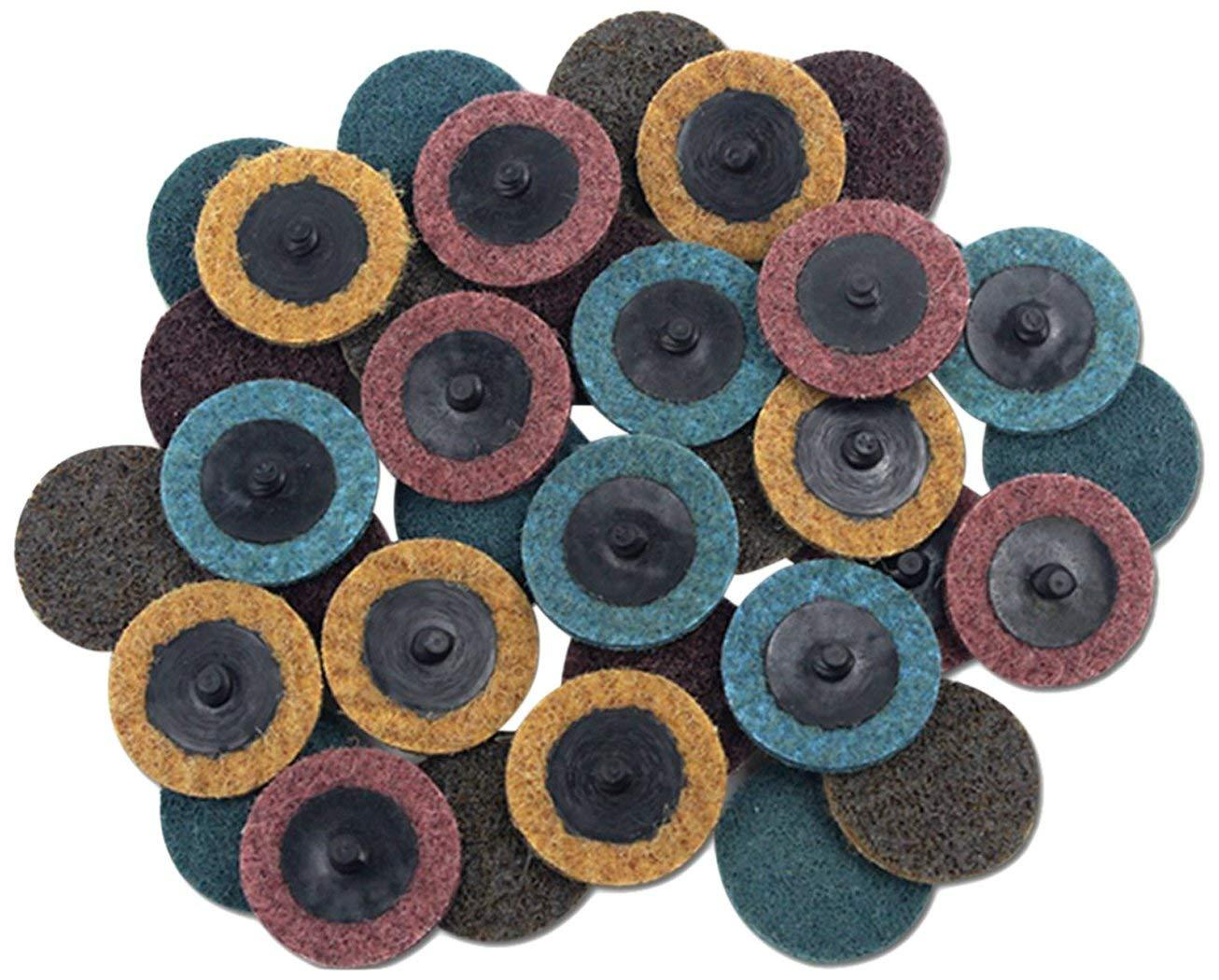 2018 Sanding Discs Set2 Inch Quick Change Roloc Surface Conditioning From Huabob 1708
