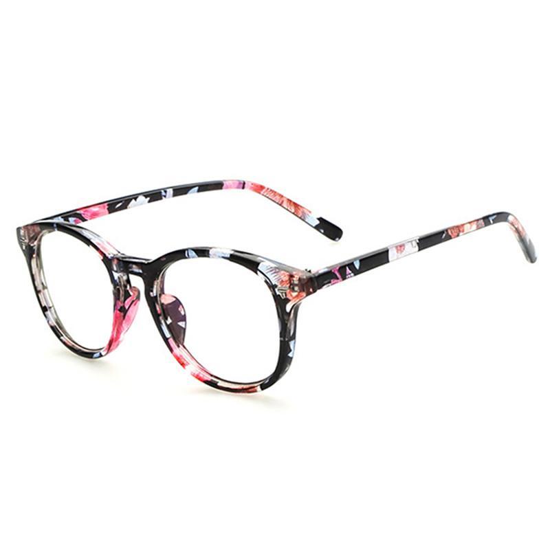 fbee082710c15 Compre Limpar Lens Óculos De Armas De Olho Falso Para As Mulheres Retro  Vintage Eyewear Miopia Nerd Óculos Transparentes Óculos De Vidro Do  Computador De ...