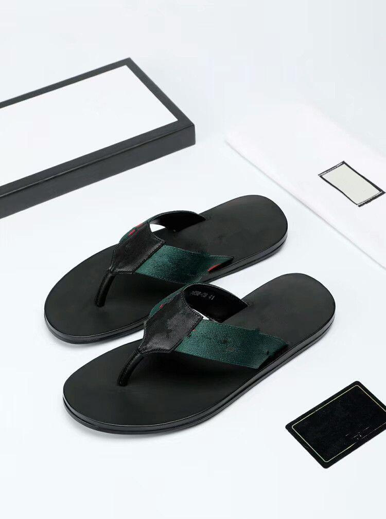 985dc885f Quality Men s Designer Slippers Clip Feet Flip Style European Tiger ...