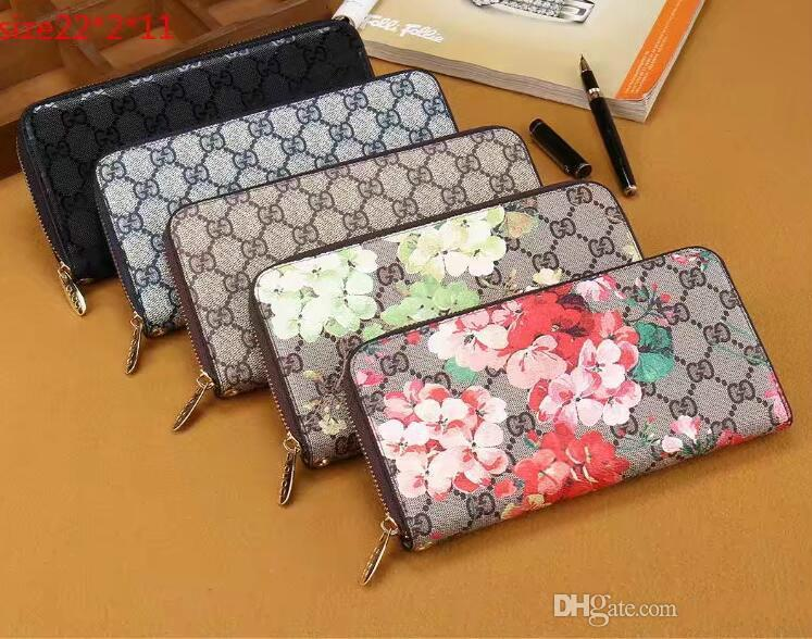 74c04b6e78ba Aaa+Free Delivery 2019 New Ladies Luxury Fashion Print Wholesale Wristband  Flower Pattern Wallet Atmosphere Fashion 2019 Aaa Free Shipping Online with  ...