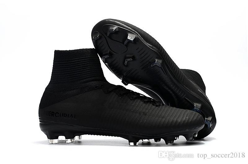 الأزرق الأخضر لكرة القدم المرابط الزئبقي superfly v tf sx نيمار الاطفال داخلي أحذية عالية الكاحل كريستيانو رونالدو رجل إمرأة أحذية كرة القدم