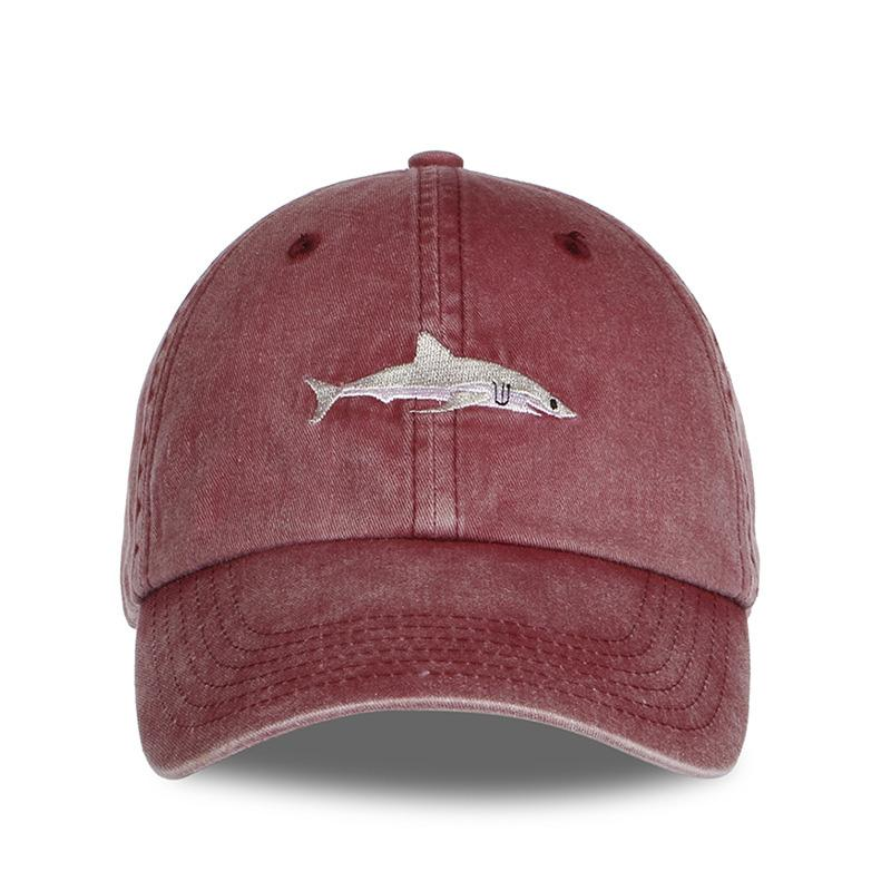 2018 Fashion Dad Hat Shark Emberoidery Baseball Cap Gorras Good Quality  Snapback Hats Brand Hat Caps Visors Millinery From Maocai c24903924bc
