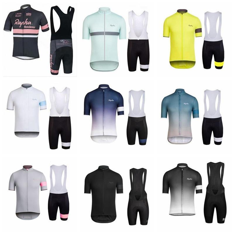 2018 NEW Rapha Cycling Jerseys Men S Short Style Racing Bike Bicycle  Clothing Set Pro Team Sport Bib Shorts Suit Mtb Riding Clothes 90532J  Mountain Bicycle ... c411cb546