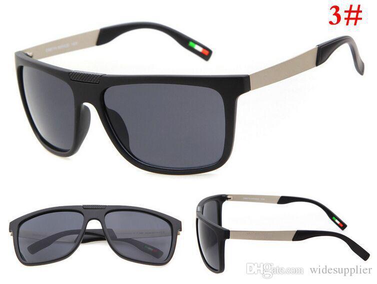 البرازيل الساخن ركوب الدراجات النظارات الشمسية انبهار لون نظارات الشمس مرآة نظارات العلامة التجارية مصمم النظارات الشمسية الرجال والنساء مع الساقين المعدنية