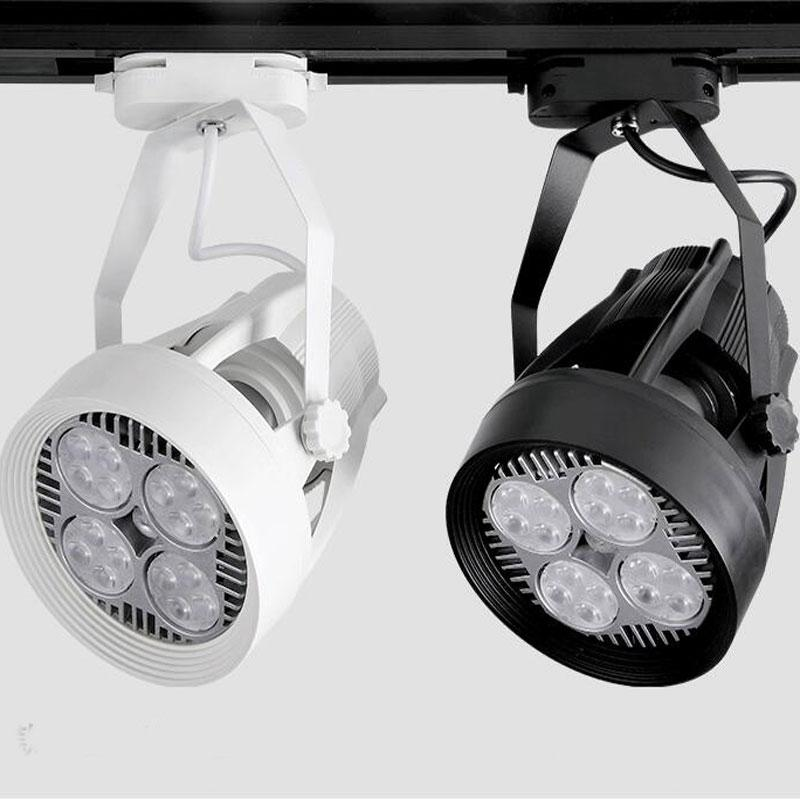2018 35w par30 track lighting fan cooling e27 220v track lamp for 2018 35w par30 track lighting fan cooling e27 220v track lamp for clothing store exhibition hall from burty 34892 dhgate aloadofball Images