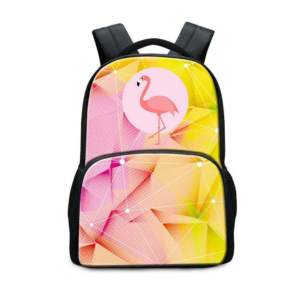 3901a9ebeb8c 17 Inch Canvas School Bags For Students Cute Unicorn Printed Laptop Backpack  For Teens Children Fashion Daily Daypack College Bookbag Rugtas Toddler ...