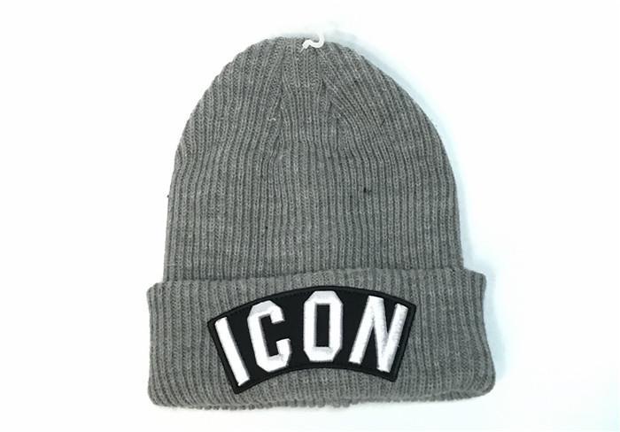 Acquista New Icon Knit Cap Fashion Brand Inverno Berretti Top Quality  Stretch Morbido Cappello Caldo Il Bambino Adulto Di Lusso Ricamo Cranio Cap  Quotidiano ... cfb30c9a68c3
