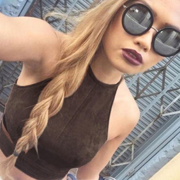 b903319b81245 Good Quality EXWomen Boho Tank Tops Bustier Bra Vest Crop Top Shirt  Bralette Blouse Cami Spandex Summer Tee Women Clothing Online with   27.01 Piece on ...