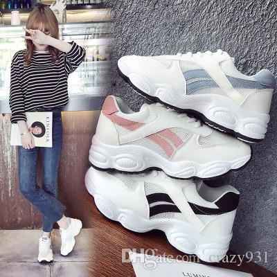 a50c6467709c2 Summer Fashion Mesh Women Casual Flats Shoes Woman Lighweight ...