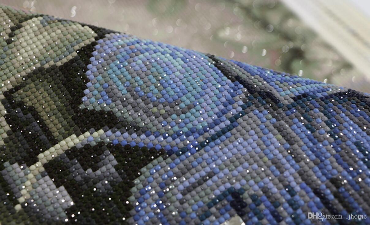 90 * 60 CM Spezielle Geformte Diamant Stickerei Tier Pfau 5D Diamant Malerei Kreuzstich 3D Diamant Mosaik Dekoration Weihnachten
