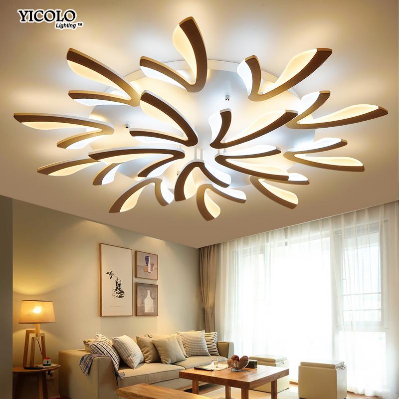 Leuchte Deckenleuchten Moderne Led Kristall Deckenleuchte Licht Mit 8 Lichter Für Wohnzimmer Beleuchtung Für Zuhause Lustre De Sala Kostenloser Versand