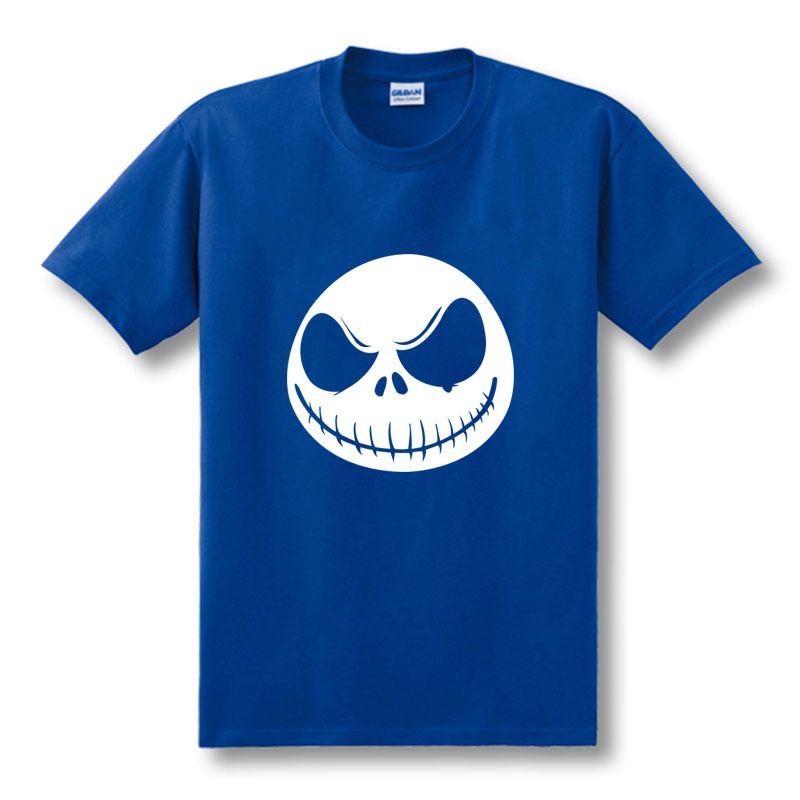 Compre Nueva Camiseta Para Hombre Pesadilla Antes De Navidad Jack  Skellington Camiseta De Carbón Para Hombre Acepta Camisetas De Algodón De  Manga Corta ... 37b188b48c39f