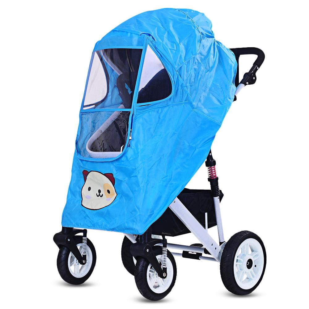 9f5379958f92 Baby Stroller Pushchair Pram Accessories Rain-proof Wind-proof Rain ...