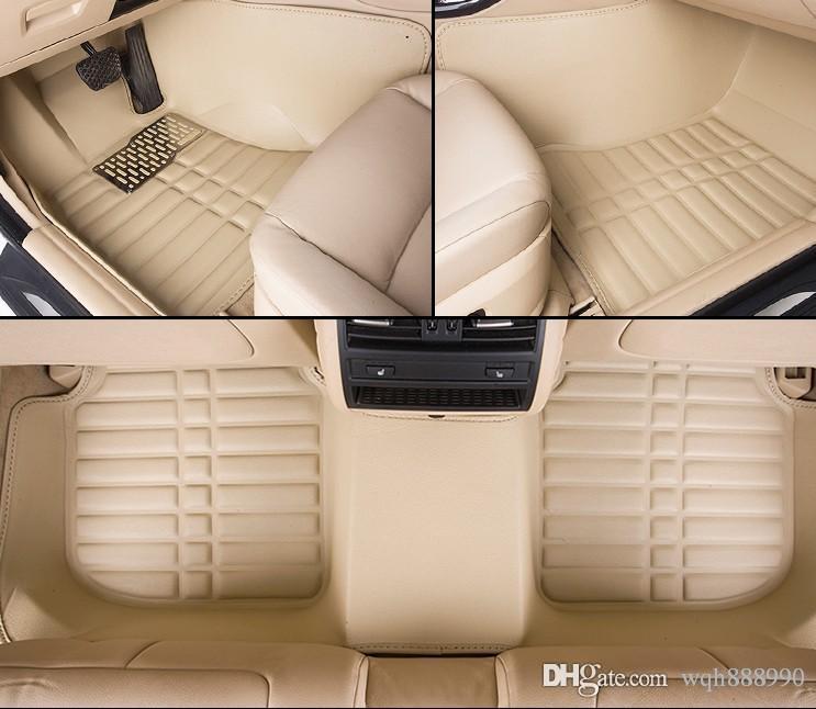 2018 High Quality Car Floor Mats For Ford Ecosport Fiesta Edge