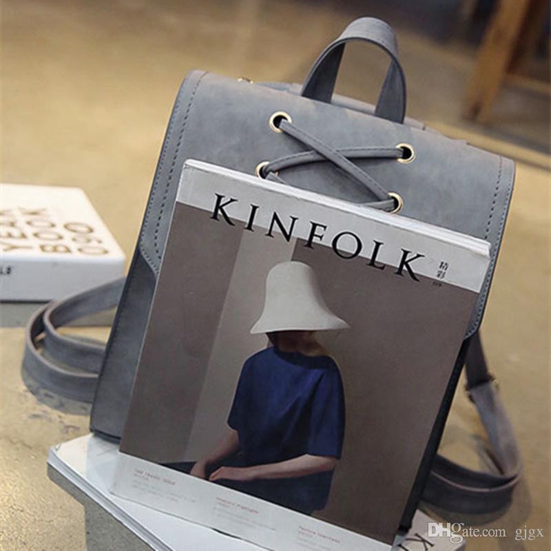 2018 neue Fransen Umhängetasche weibliche koreanische Version der Schule Wind Student Tasche Frauen wilden Rucksack große Kapazität Reisetasche