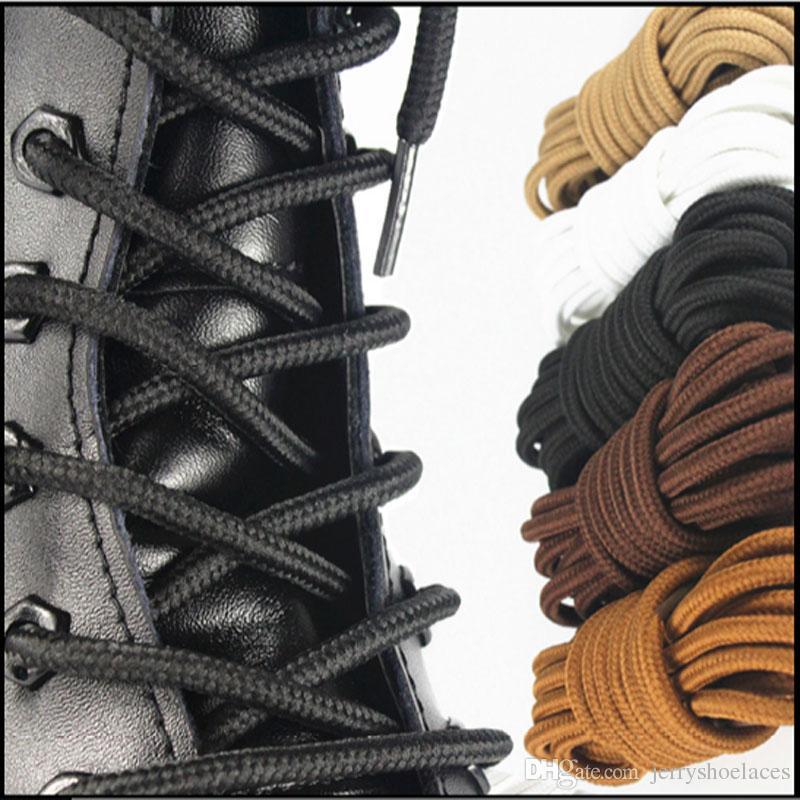 63inches / 160cm starke runde Spitzee feste starke Shoestrings Unisexschnürsenkel-Schnur-Seile für Martin-Aufladungen