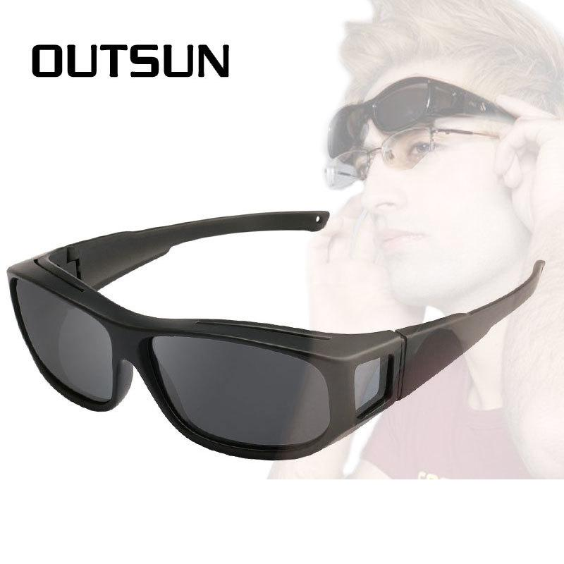 1e6311f75c87 OUTSUN Polarized Fit Over Sunglasses Fishing Sun Glasses Men Women  LensCovers Glasses Wear Over Prescription Glasses D18101302 Best Sunglasses  For Men ...