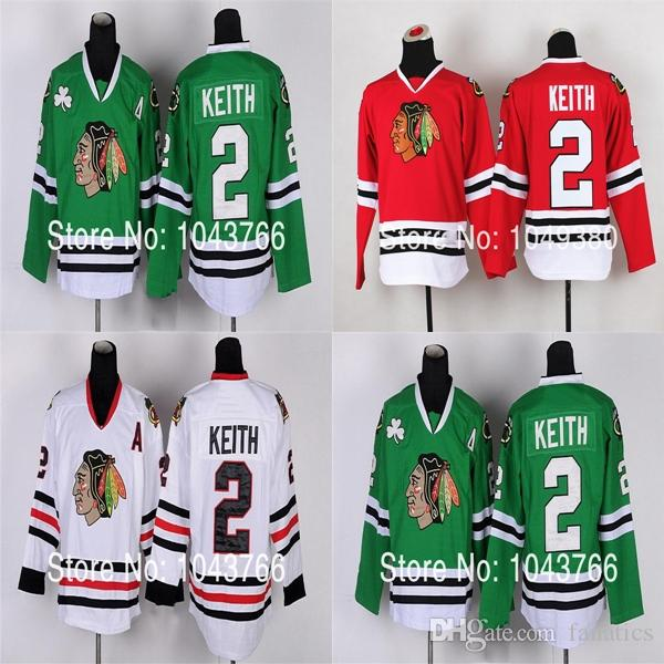 cb5d4444a08 Kids Duncan Keith Jersey Youth Red Chicago Blackhawks  2 Duncan ...