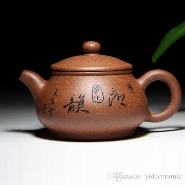 Chinese Ceramic Zisha Teapot Gift Tea Pot Handmade Yixing Teapot Of Good Gift For Parents And Friends Pottery Material