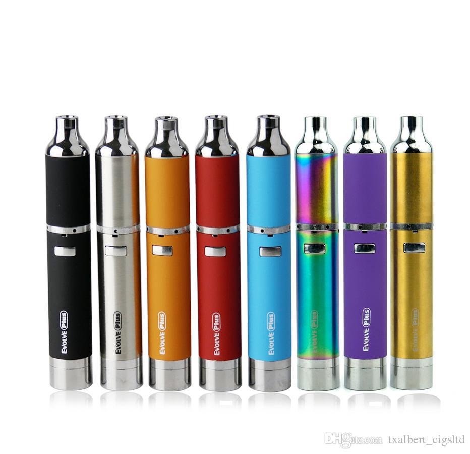 100% originale Yocan Evolve Plus Starter kit con 1100mAh Wax vape Pen Quartz Dual Coil Sostituzione bobine Evolve penna Vaporizzatore E sigaretta