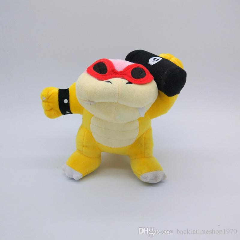 Super Mario Koopalings Plush Toys Wendy LARRY IGGY Ludwig Roy Morton Lemmy Koopa Plush Toys Stuffed Doll children gift