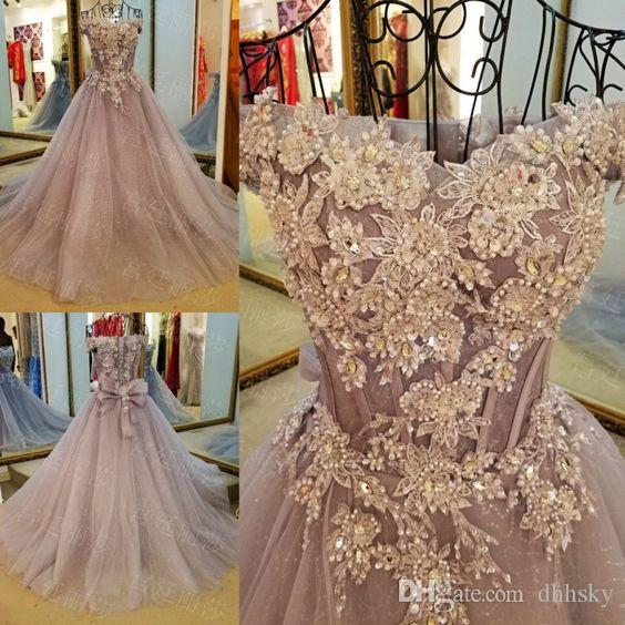 Evening dress Yousef aljasmi Kim kardashian Pink flower Ball gown Almoda gianninaazar ZuhLair murad Ziadnakad