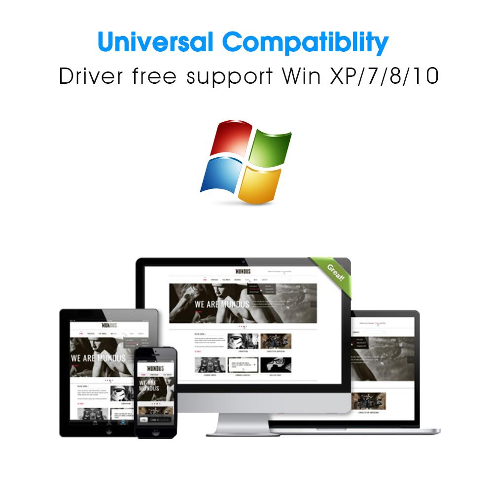 EDUP USB wi-fi adapter driver free on windows 150mbps high gain 6dbi wifi antenna 802.11n usb ethernet adapter network card PC