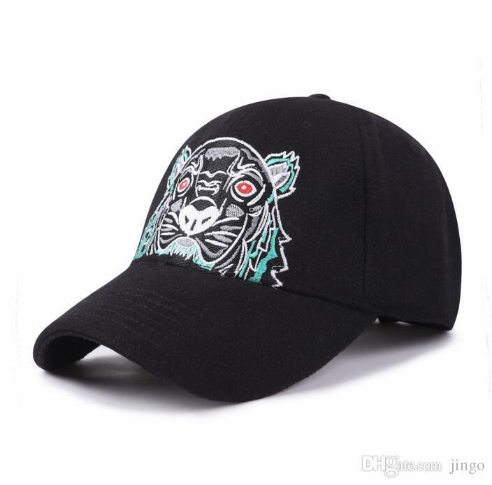 DHL Designer Mens Baseball Caps New Brand Tiger Head Hats Embroidered Mens  Women Hats Women Casual Hat Sun Hats Sports Caps Diy Paper Hats Diy Paper  Party ... adb5b6307ef