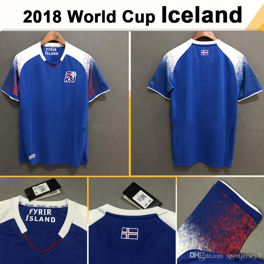 4dc39339b ... low cost ebay 55f29 bedf4 2018 2018 world cup iceland soccer jerseys  sigurdsson sigthorsson home blue