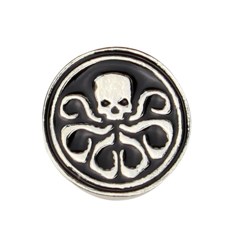 2018 The Avengers Agents Of Shield Shield Hail Hydra Pin Metal