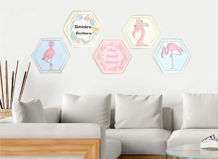 Großhandel Kreative Schlafzimmer Wohnzimmer Wandbehang Dekorationen