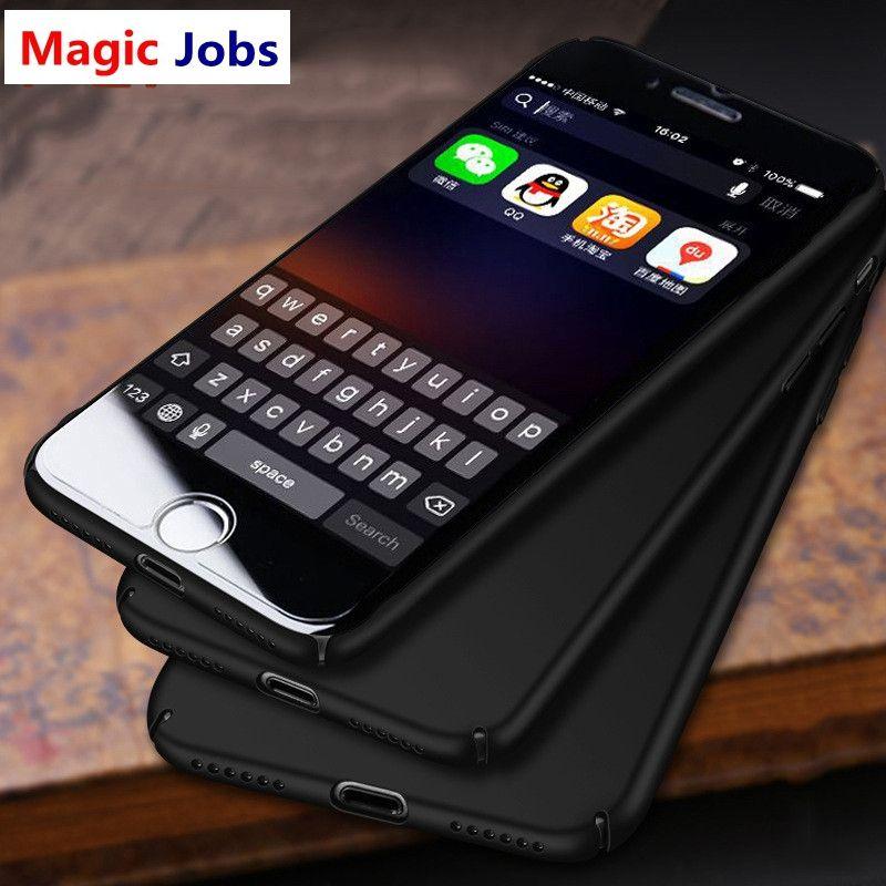 cf7991c45ee Carcasas De Movil Magic_Jobs Phone Cases Para IPhone 6 6s Plus Funda Matte  PC Luxury Ultra Thin Slim Cover Para IPhone 7 7 Plus 5 5s SE Funda Carcasa  ...