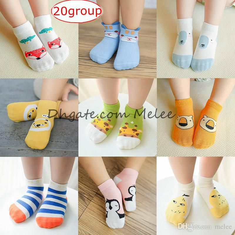 Babykleidung Mädchen Mädchen Warme Beinlinge Knie Baumwolle Nette Tiere Socken Neue Nette Baby Kleinkind Mädchen Weiche Socken 0-8 T Socken & Strumpfhosen