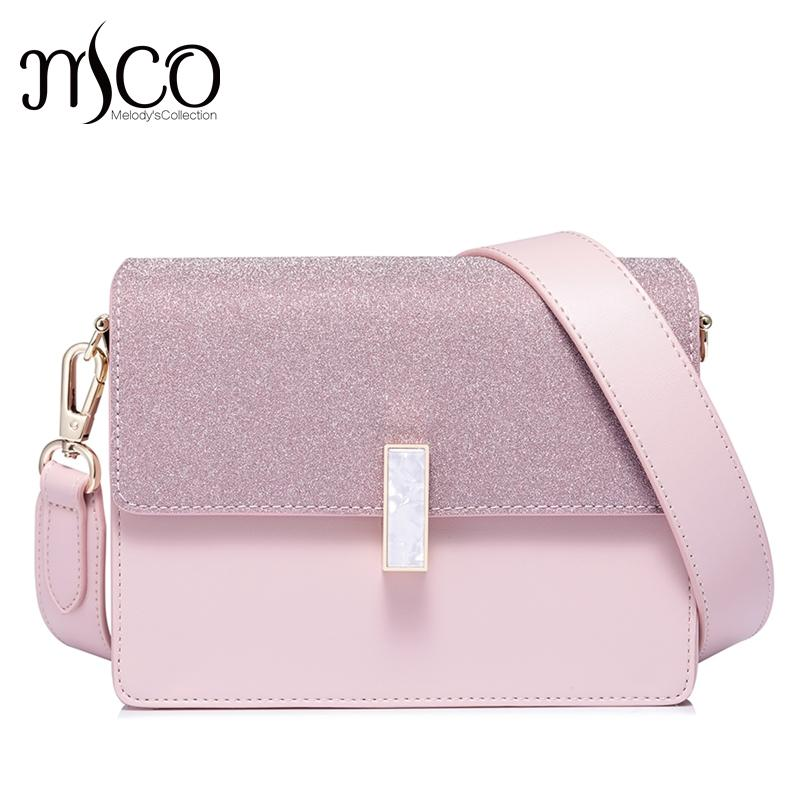 88ef2edbe942 NUCELLE Bolsas Feminina Women s Leather Messenger Bags Ladies Lock Elegant  Shoulder Bellow Purse Female Flap Mini Crossbody Bags Crossbody Bags Cheap  ...