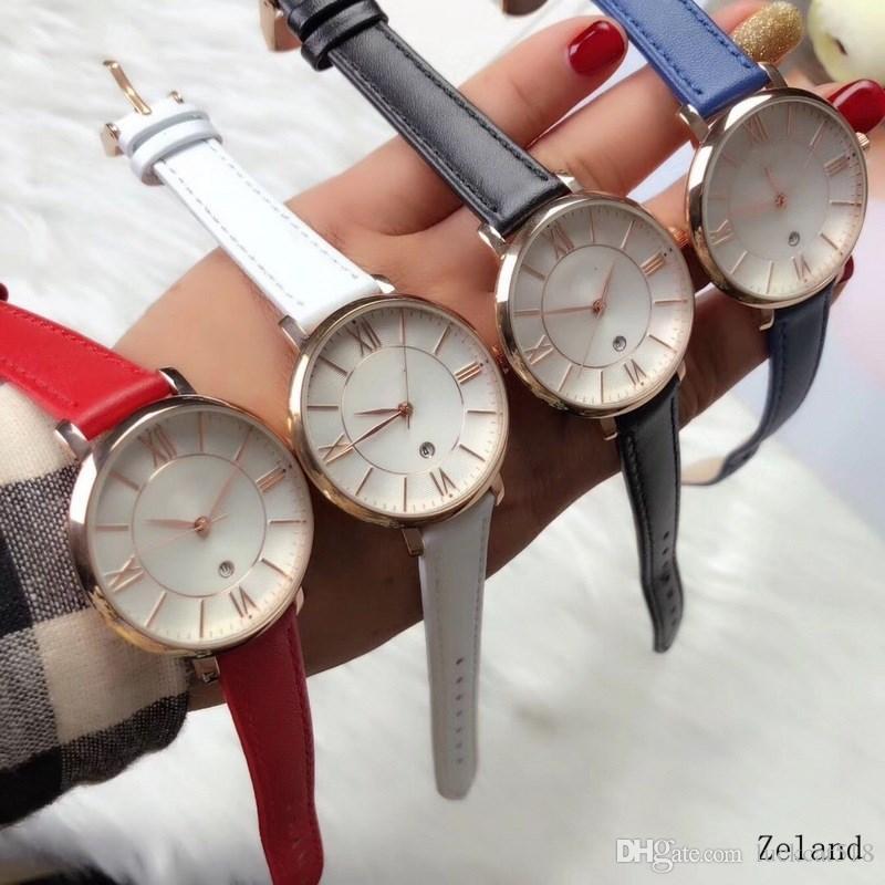 a44d27f0e6a Compre Novo Big Bang Moda Relógio Das Mulheres É Simples E Fácil De Quartzo  Desgaste Das Mulheres Assistir Importado Núcleo Da Máquina De Couro Cinta  ...